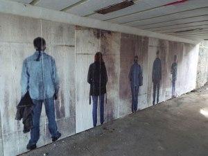dw flatline grafitti
